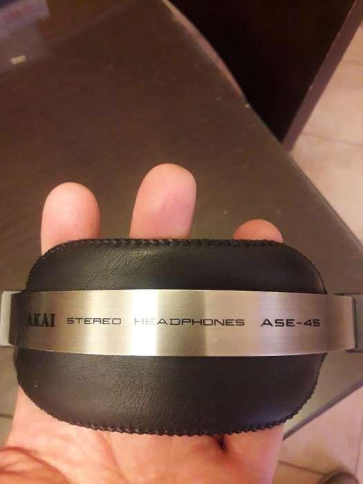 Auriculares Akai a Se45. Made In Japan.