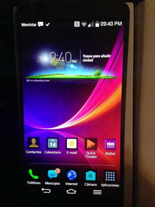 celular lg flexible pantalla curva 32GB 4G DISPLAY 6 PULGADAS