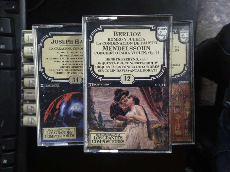 Cassettes Musica Clasica Los Grandes Compositores
