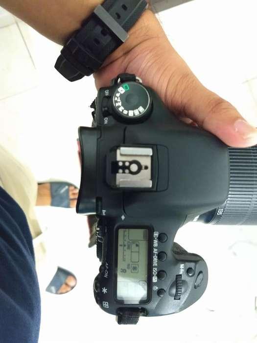 Canon 7d 3lentes