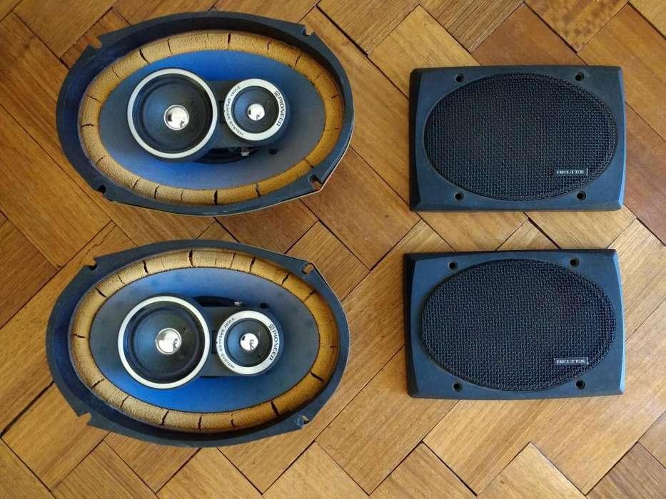Parlante Pioneer Ts-695 Japón 6x9 3 Vías Rejas