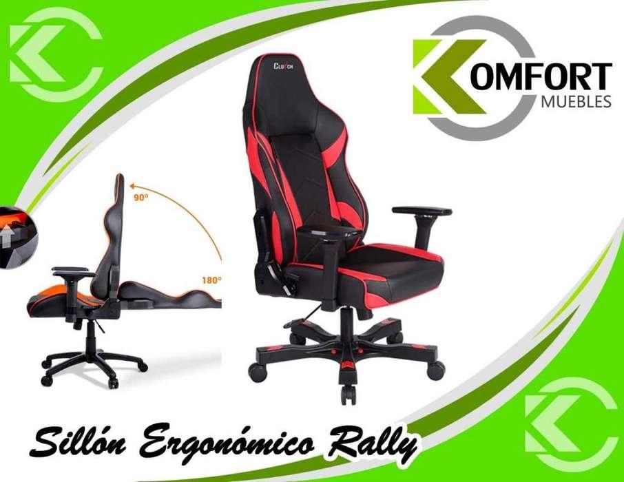 Sillón Ergonómico Rally Gamer Premium