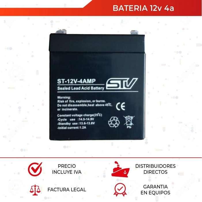 Bateria 12v 4a. Recargable. Ups. Alarma. Cercos. Cctv. Quito. Guayaquil
