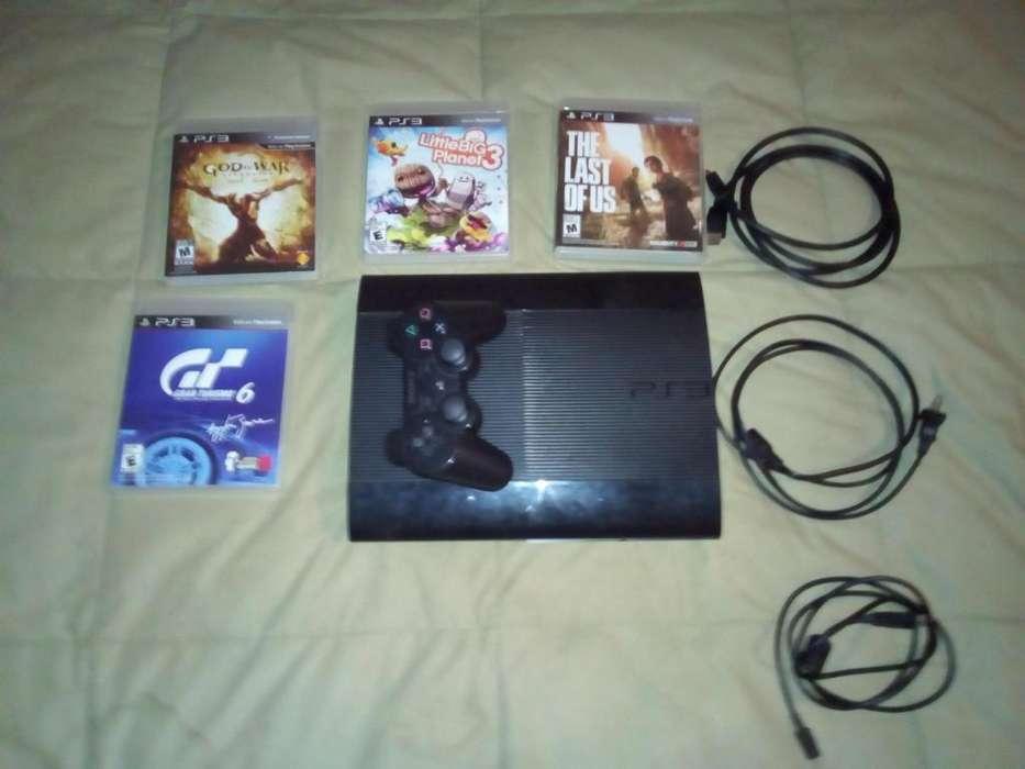 PS3 Super Slim500gb1 control4 juegos fisicos