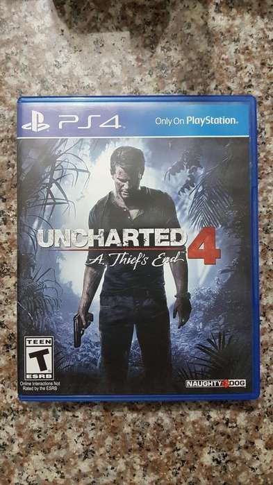 JUEGO PS4 UNCHARTED 4!!!