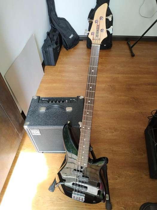 bajo Yamaha Rbx 170 con Ampli Y Forro