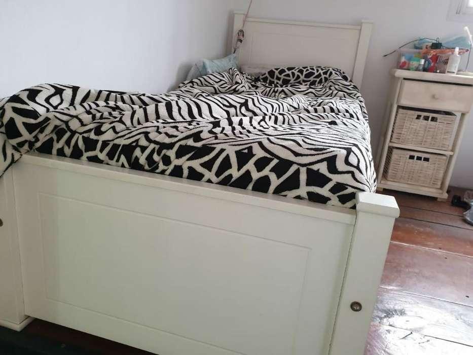 Juego Dormitorio Laqueado Geza <strong>cama</strong> Mari