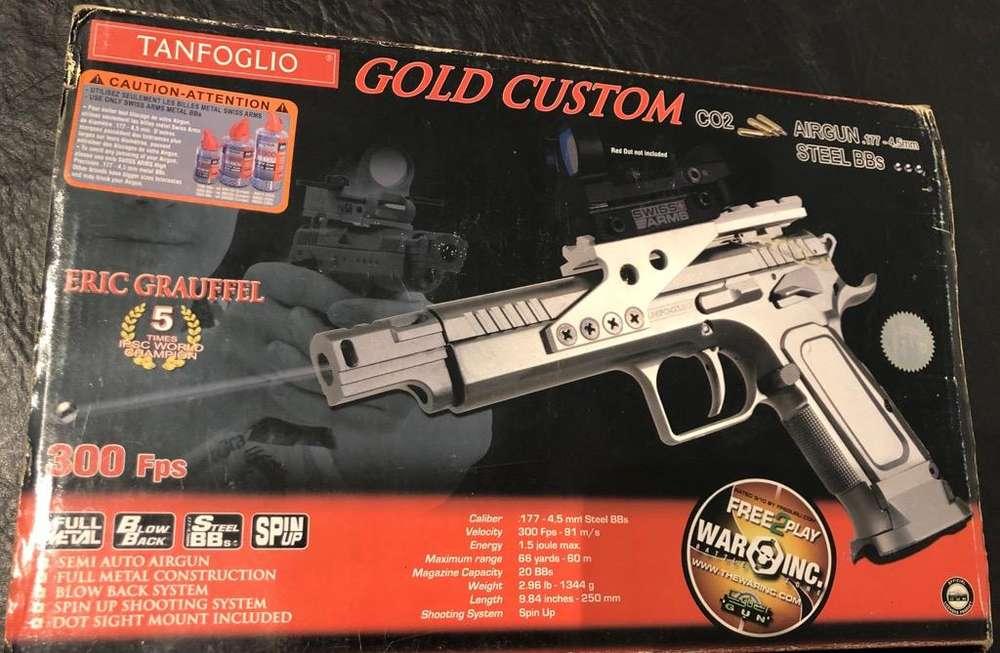 Pistola de Co2 Full Metal Blowcak