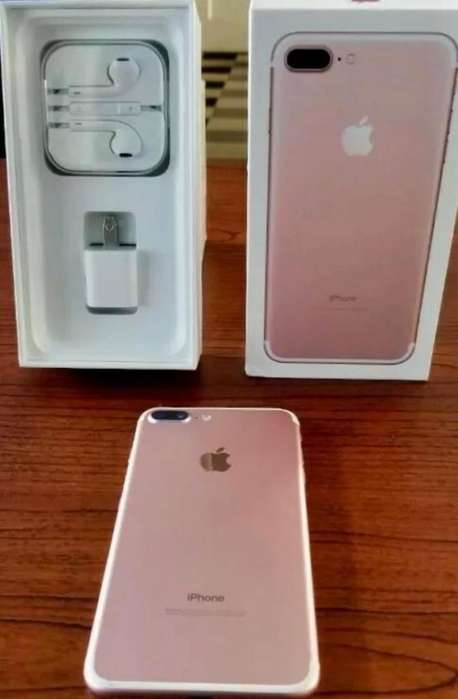 IPhone 7 Plus color rosa 128 GB