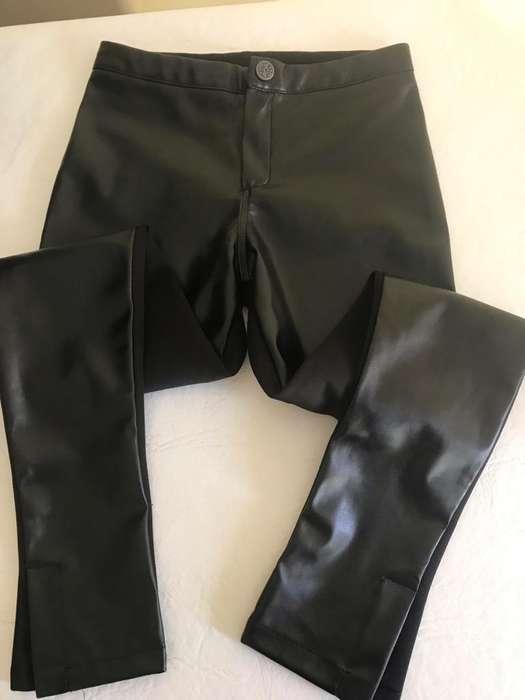 Pantalon Engomado D Nena 6/7 Años