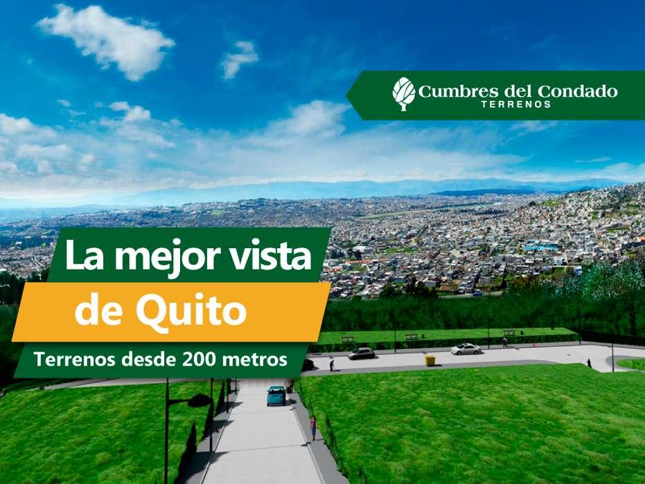 Terreno de venta urbanizado en el sector Condado Norte de Quito