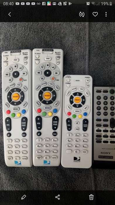 Controles Originales