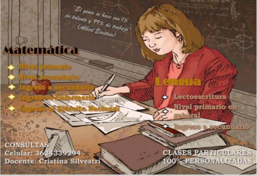 Clases Particulares Matemática Y Lengua