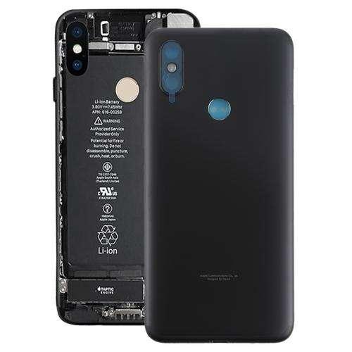 Para Xiaomi Mi 6x/a2 Tapa Posterior De Batería Negro