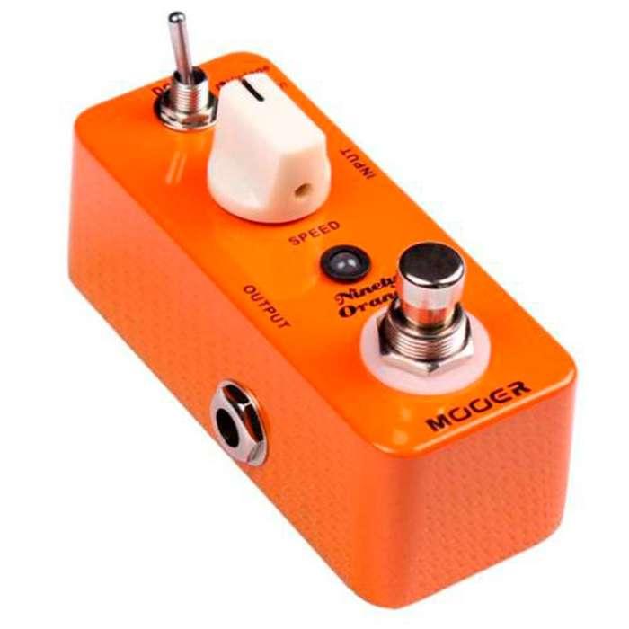 Pedal Mooer MPH1 <strong>guitarra</strong> Phaser Ninety Orange MusicBoxColombia ¡Hasta -30% Dto en productos seleccionados!
