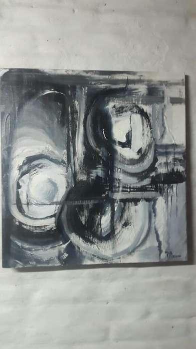 Pinturas Abstractas 4000 Pesos Comunicar