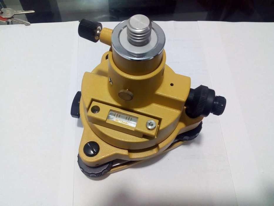 Base nivelante plomada óptica adaptador Tribachtopo FJR