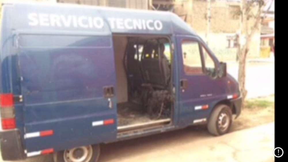 casa rodante camping car peugeot boxer 1998 motor nuevo 6500