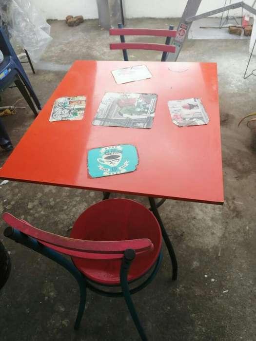 Mesas Y Estufa de Restaurantr