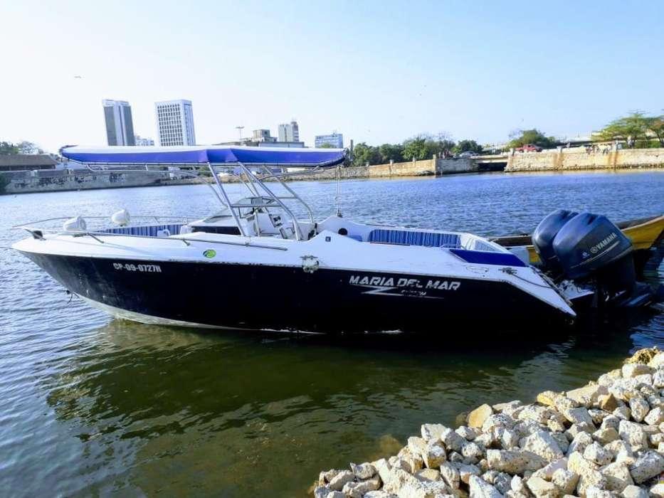 Vendo Bote Deportivo con Dos Motores