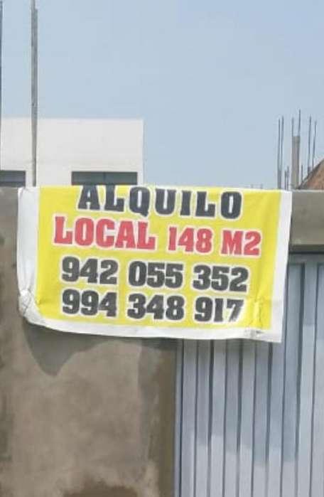 Alquilo local comercial 148 mts Carabayllo