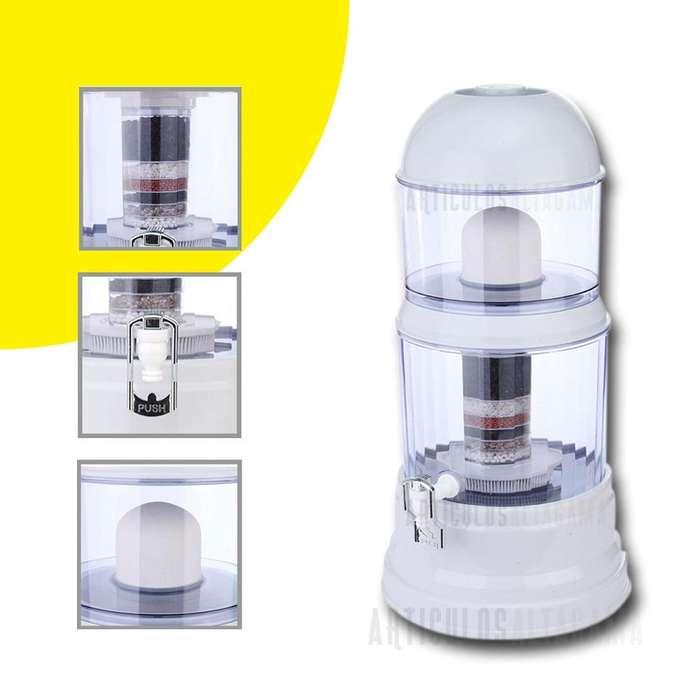 Filtro Purificador Natural 16 Litros Agua Mineralizada