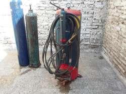 gasometro 4kg GADA ,2 tubos de oxigeno