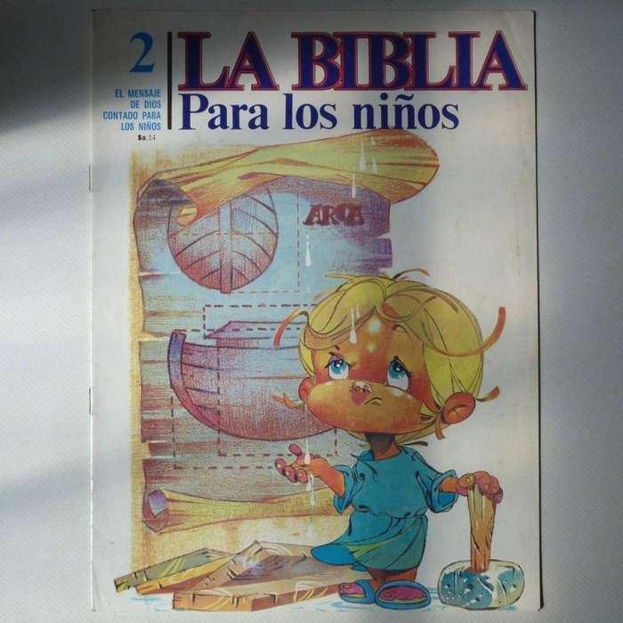 Revista La Biblia Para Los Niños N2, Ed. Edecele 1983