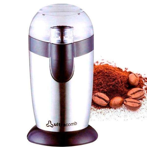 Molinillo De Café Ultracomb 120w Acero Inox Zona Alto RosarIo BLASTER PC