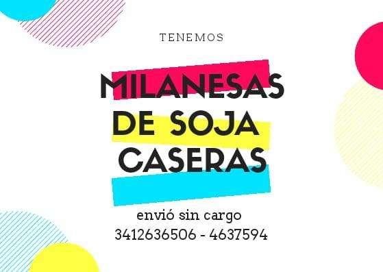 MILANESAS DE SOJA CASERAS