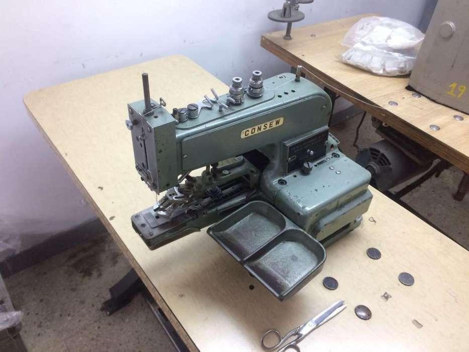 MAQUINA de coser BOTONADORA marca JONSEW JAPONESA