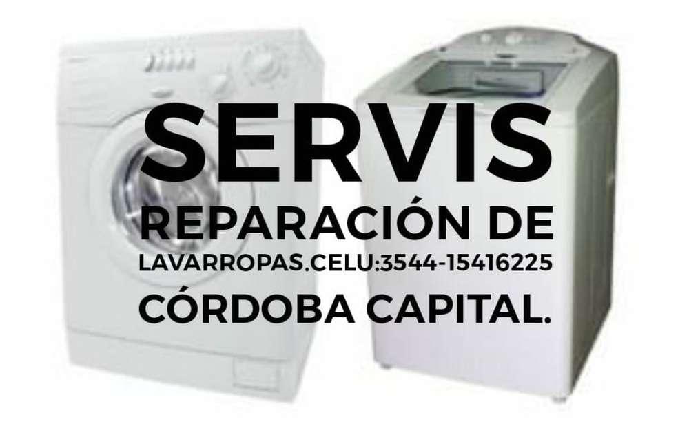 Servís Reparación Lavarropas, Secarropas
