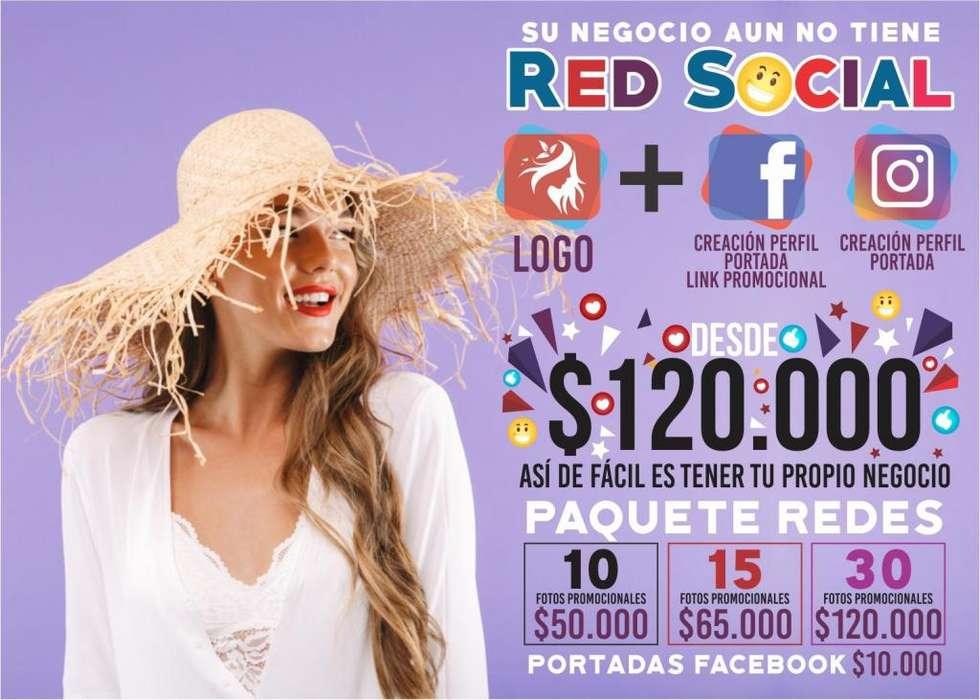 Páginas Web Redes Sociales Instagram Facebook Logos Publicidad Diseño Gráfico Imagen Corporativa