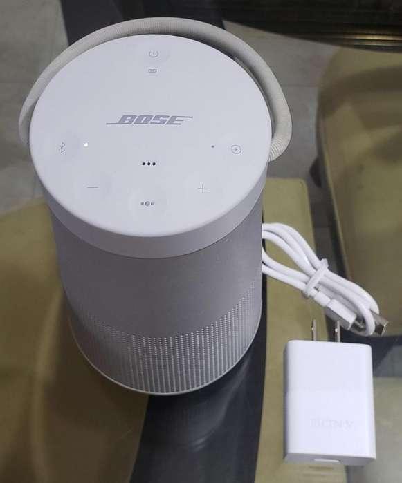Parlante Bose Soundlink Revolve Plus Gris Usado Buen Estado