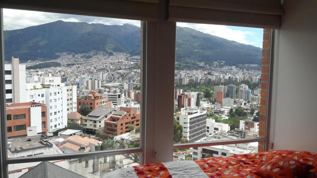 Arriendo Amoblado hermoso departamento 3 habitaciones Gonzalez Suarez