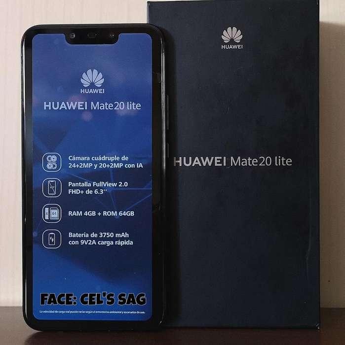 HUAWEI MATE 20 LITE NUEVOS 64GB, ANDROID 9 PIE . ACEPTO CELULAR Y EFECTIVO