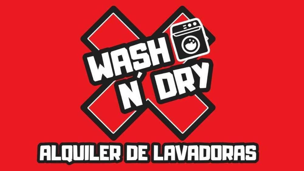 Alquiler de Lavadoras Suba Wash N' Dry