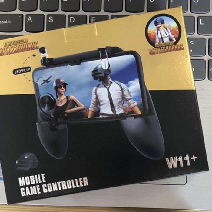 Gamepad Gatillero Para Celular Mando Boton Analogico