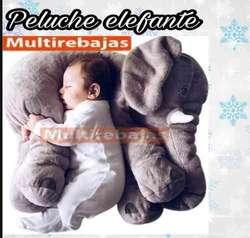 Almohada Gigante Elefante Antiacaros Para Bebe