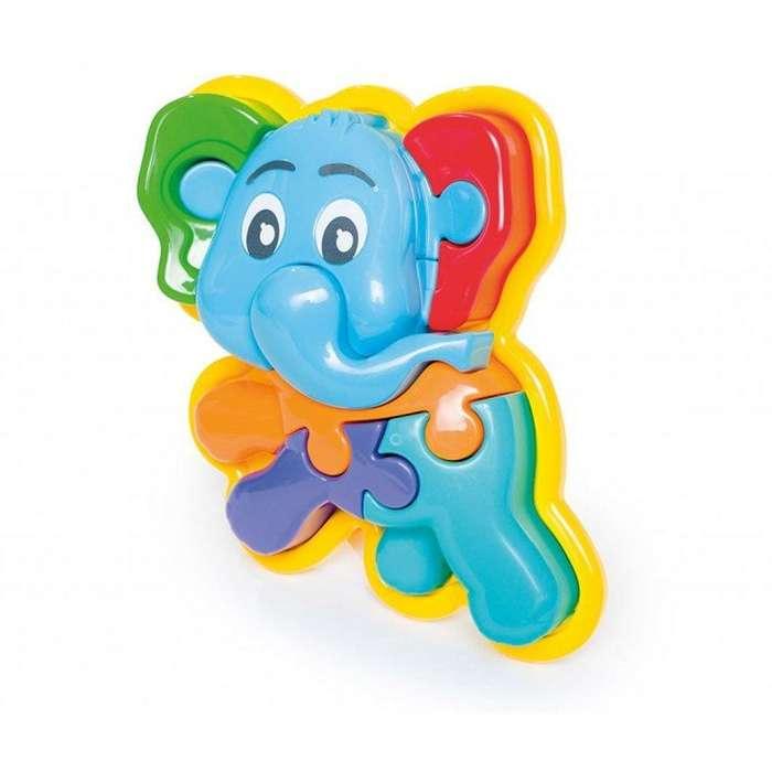 Animal Puzzle 3D Elefante para 2 años