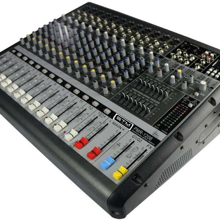 Mezcladora Amplificada Stm Electronics