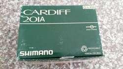 Caja Carrete Pesca Shimano Cardiff 201a, solo caja