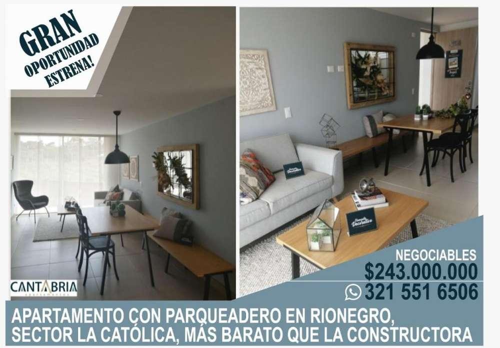 Apartamento, Rionegro, Sector La Católica