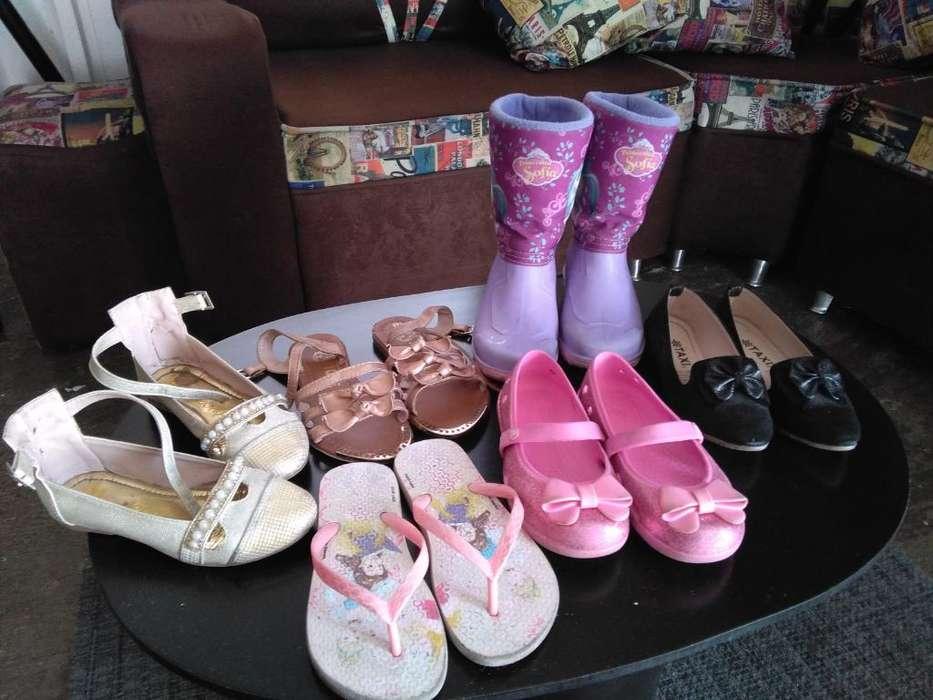 Hermoso Lotecito de Zapatos Talla 28 en