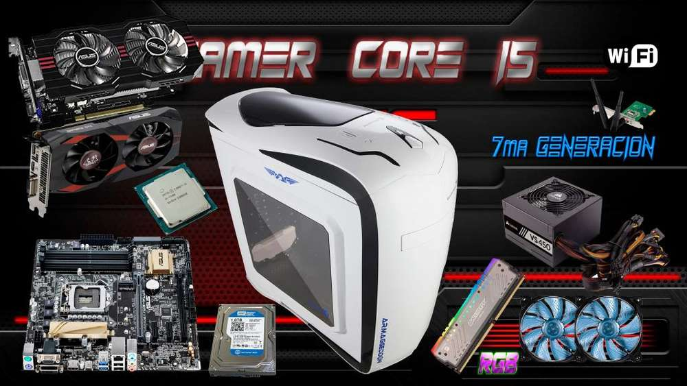 PC GAMER PRO CORE I5
