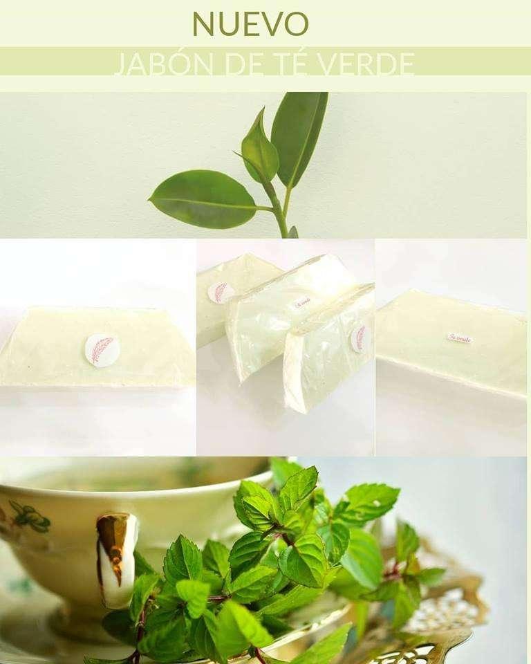 jabón de té verde Mar del plata venta por mayor y menor