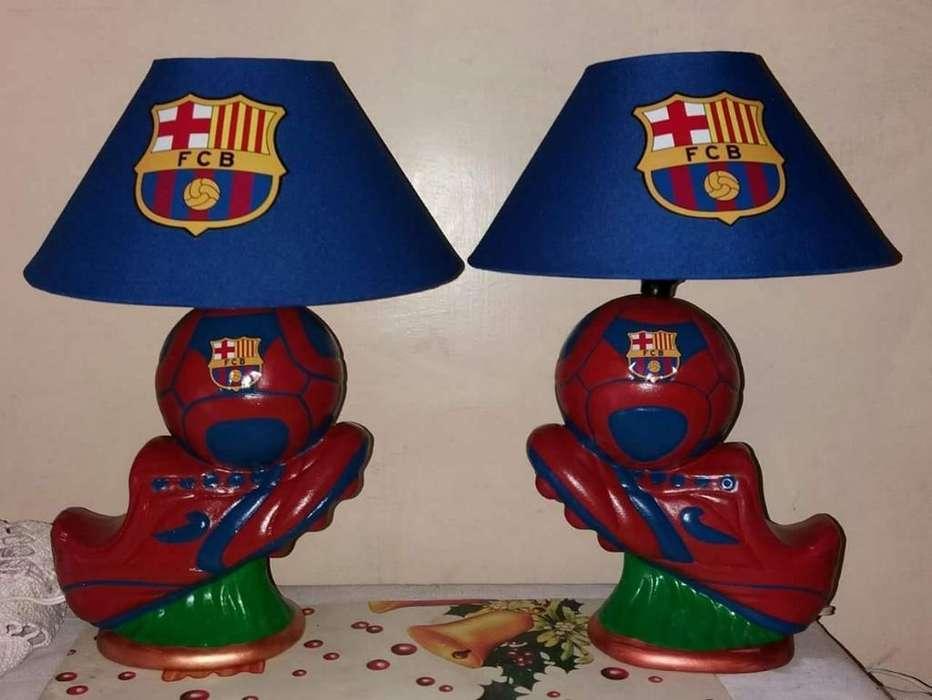Lámparas de Equipos de Fútbol