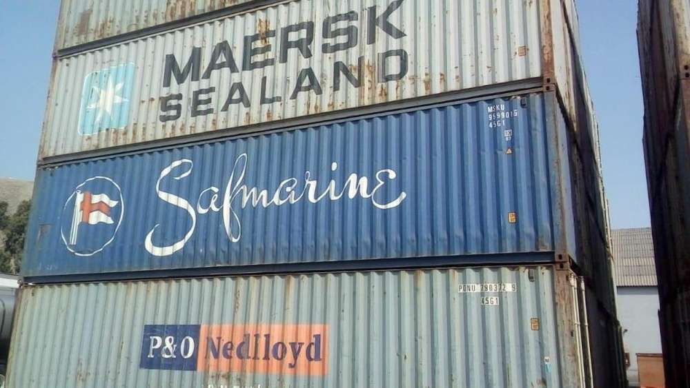 clases de contenedores marítimos de 20 y 40 pies - segundo uso