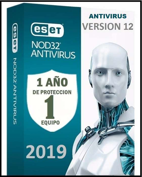 Eset Nod32 Antivirus Licencia original 1pc x 1 Año