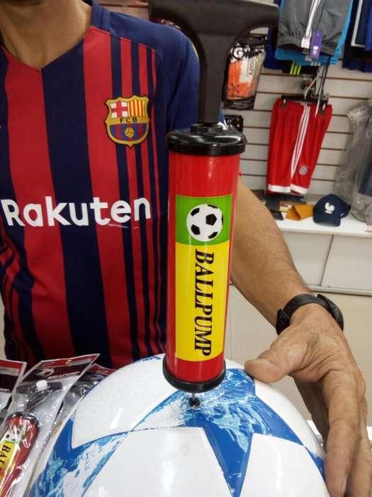 Inflador para Balones Deportivos Nadeportes.
